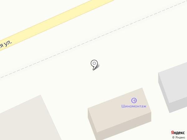 Шиномонтажная мастерская на карте Волгограда