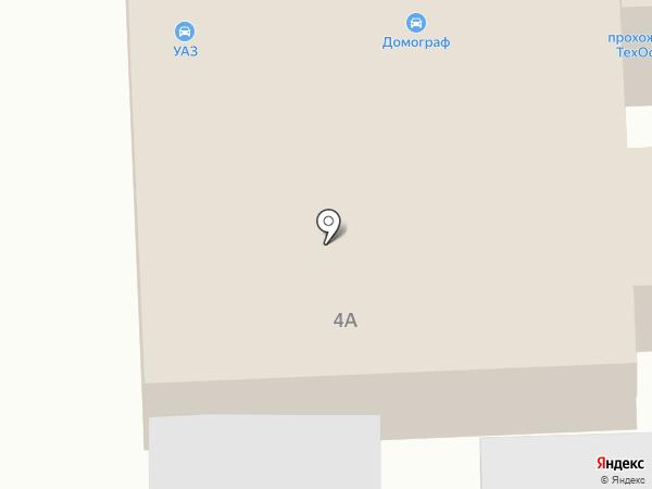 Домограф на карте Волгограда