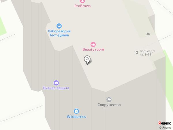 Танцевальный квартал на карте Волгограда