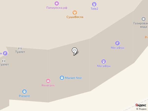BGN на карте Волгограда