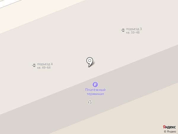 Магазин тканей и фурнитуры на карте Волгограда