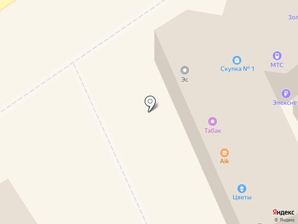Магазин табачной продукции на карте Волгограда