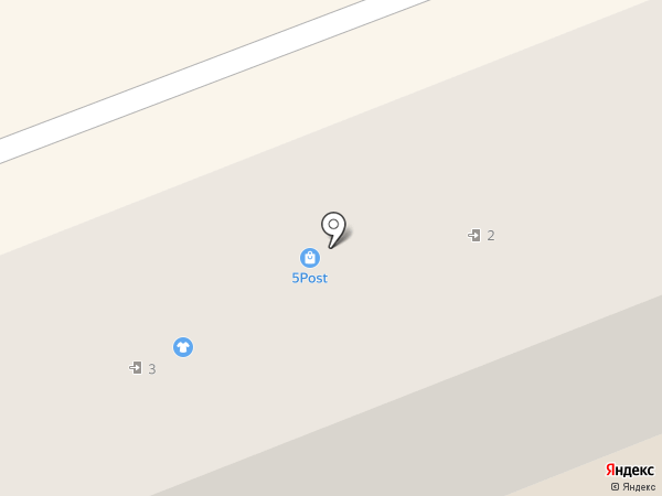 Ателье на карте Волгограда