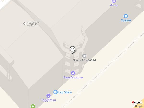 Телеком-Волга на карте Волгограда