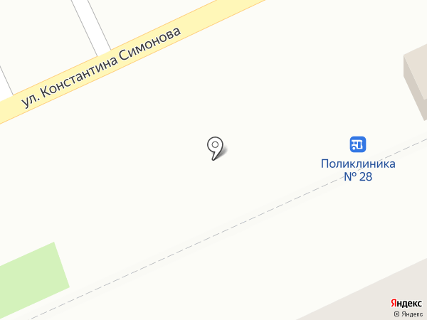 Дело в Мясе на карте Волгограда