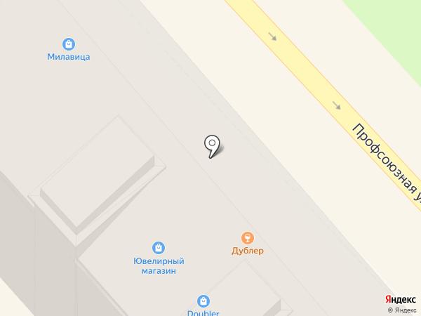 Doubler на карте Волгограда