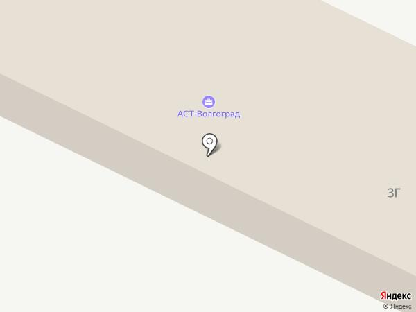 РУСБИЗНЕСАВТО на карте Волгограда