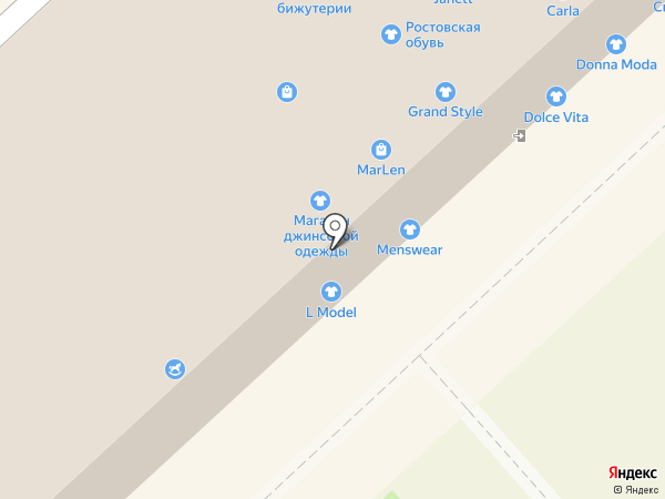 Котофей на карте Волгограда