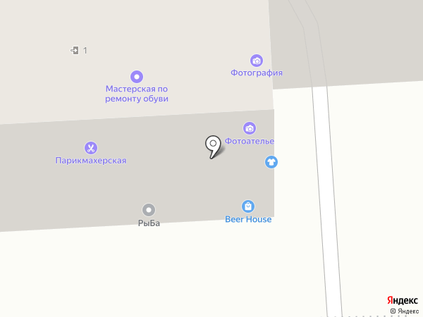 Парикмахерская на карте Волгограда