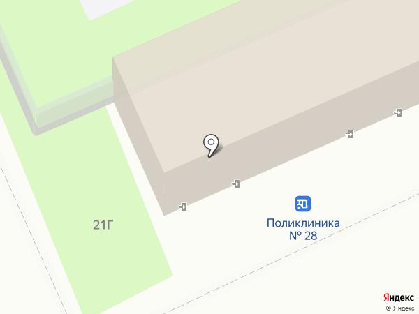 Волгомясомолторг на карте Волгограда