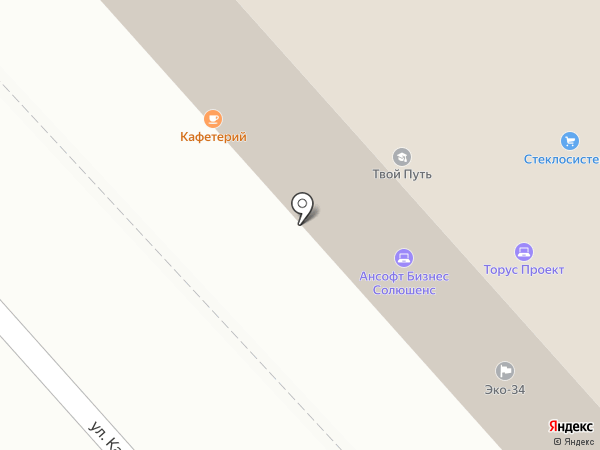 ГОСТ на карте Волгограда