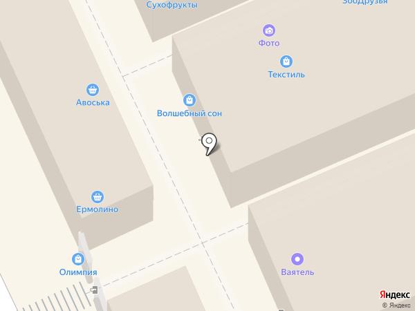 Магазин мужской одежды на карте Волгограда
