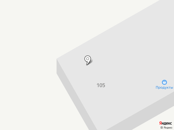 Дорога 134 на карте Городища