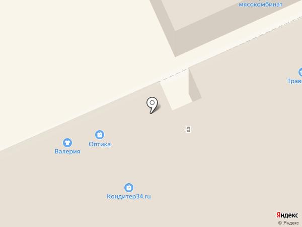 Cikoby на карте Волгограда