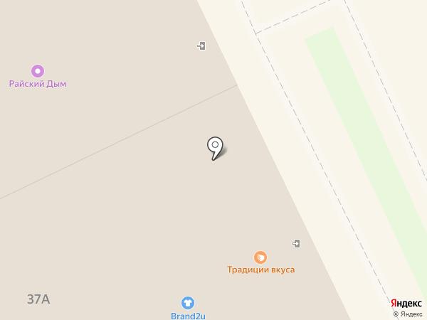 Южный двор на карте Волгограда