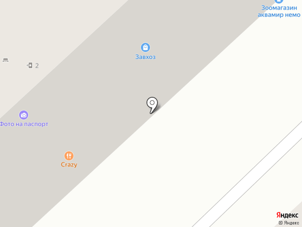 Добрые Друзья на карте Волгограда