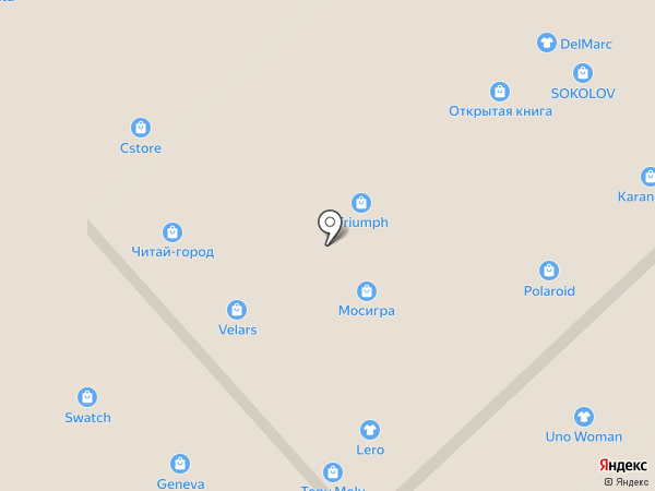 Гардероб Meister на карте Волгограда