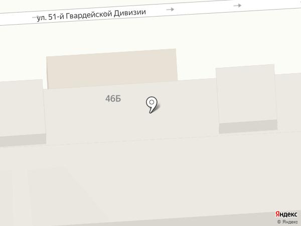 Сеть магазинов и киосков молочной продукции на карте Волгограда