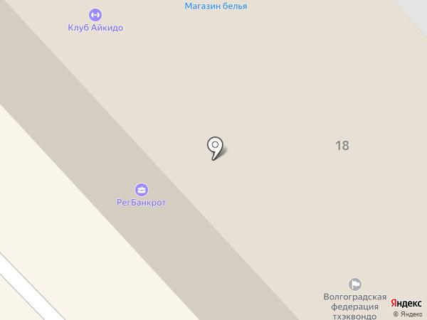 Магазин головных уборов и перчаток на карте Волгограда