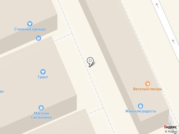 Магазин постельного белья на карте Волгограда