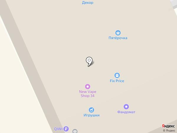 Бэмби на карте Волгограда