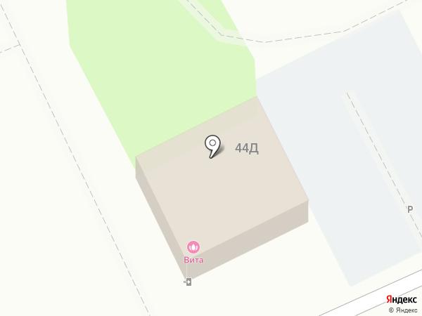 Вита на карте Волгограда