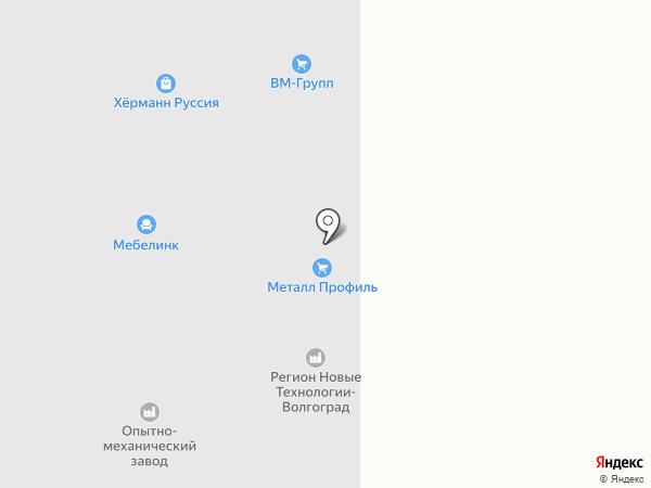 Исо Кемикалс на карте Волгограда