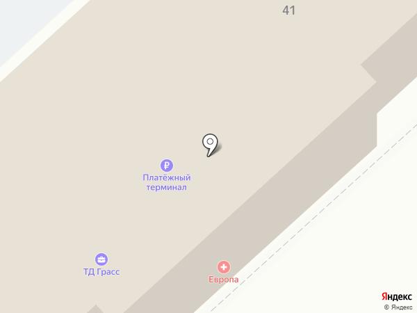 Фаворит на карте Волгограда