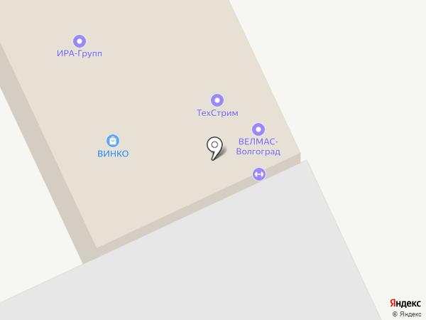 ВЕЛМАС-ВОЛГОГРАД на карте Волгограда