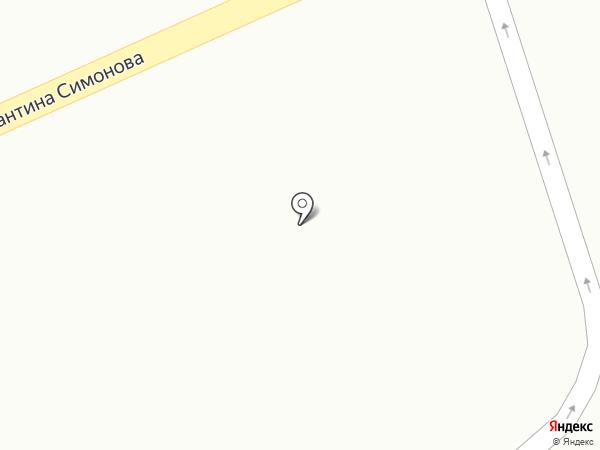 Магазин фруктов и овощей на карте Волгограда