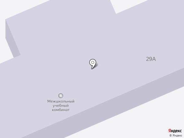 Межшкольный учебный комбинат Дзержинского района на карте Волгограда