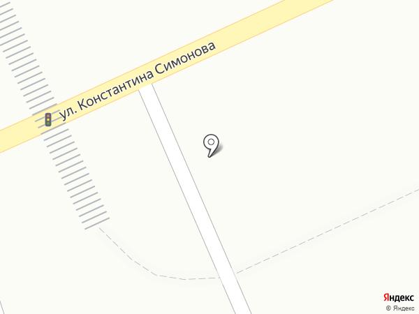 Цветочный магазин на карте Волгограда