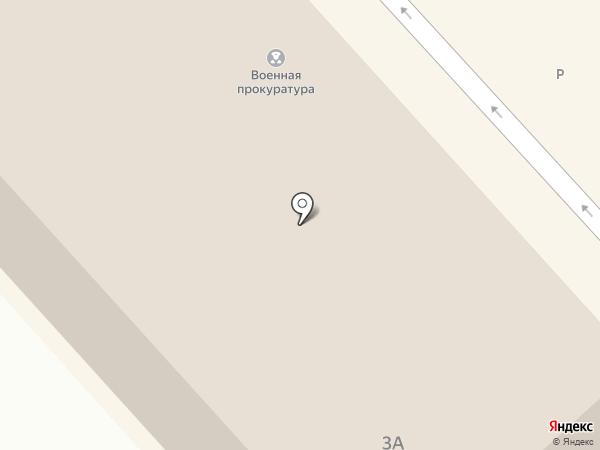 Военная прокуратура Волгоградского гарнизона на карте Волгограда