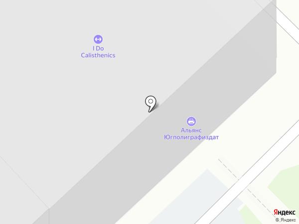 Альянс Югполиграфиздат на карте Волгограда