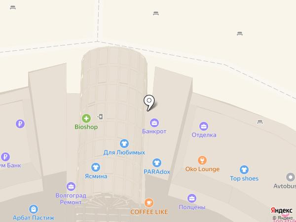 Терраса-ПРО на карте Волгограда