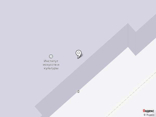ВГИИК на карте Волгограда