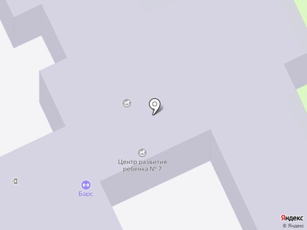 Детский сад №390 на карте Волгограда