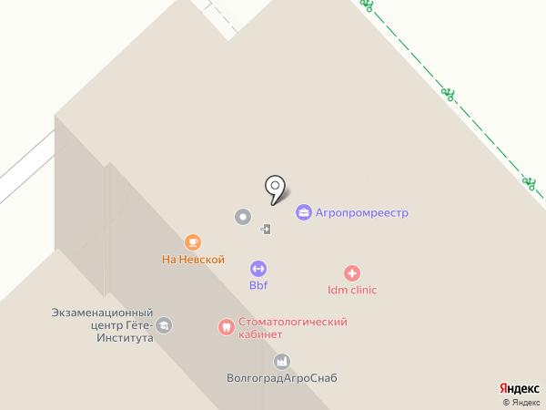Базис на карте Волгограда