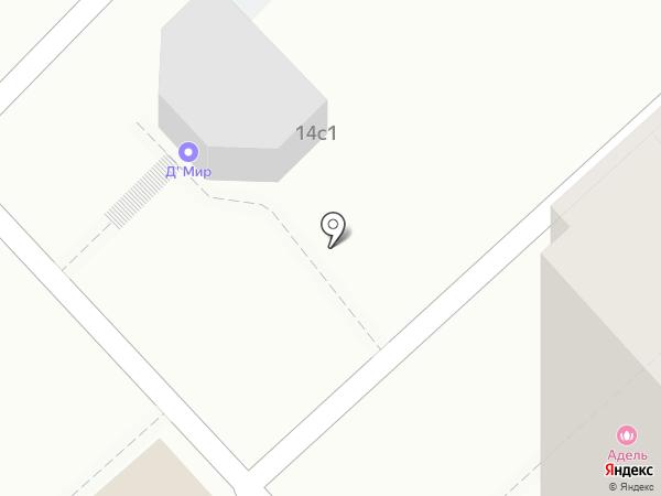 Петруха на карте Волгограда