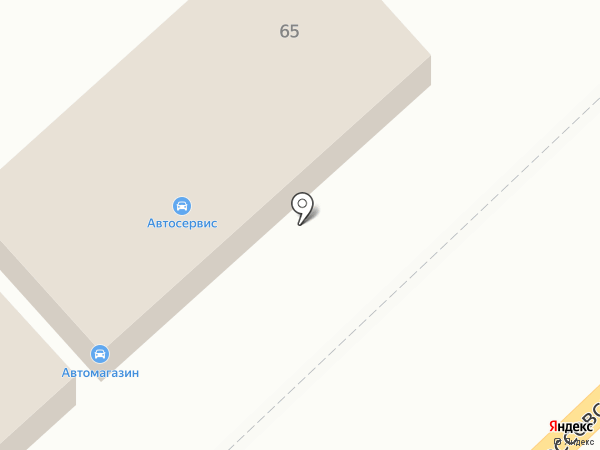 Автомагазин на карте Волгограда