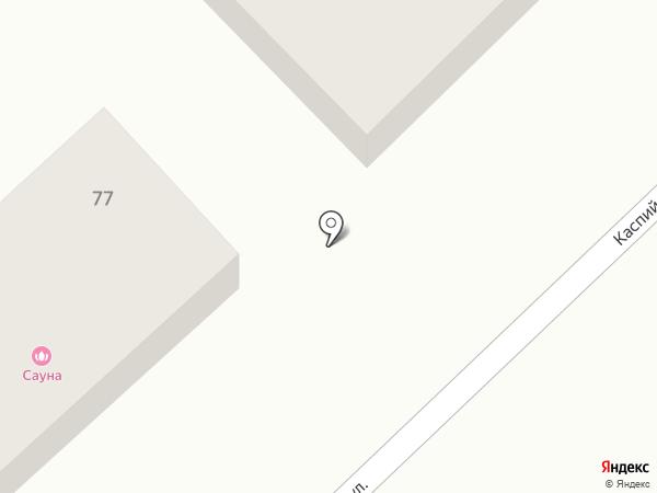 Сауна на карте Волгограда