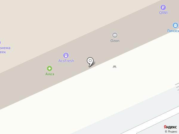Одень тачку на карте Волгограда