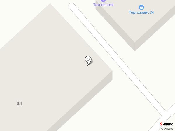 ВолгоСтройИнвест на карте Волгограда