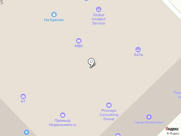 Princeps Consulting Group на карте Волгограда