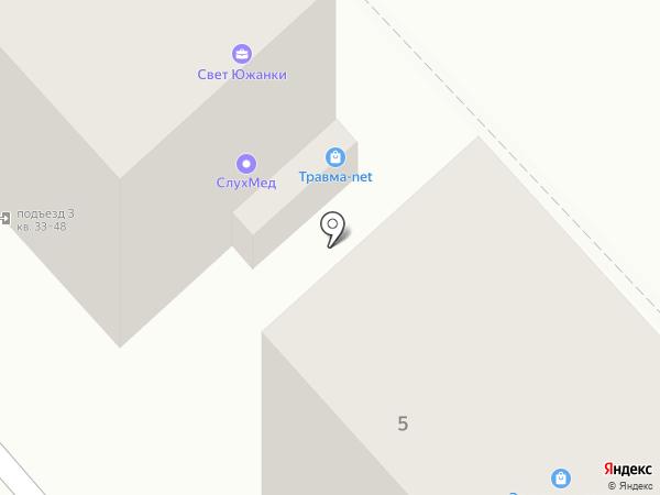 Магазин слуховых аппаратов на карте Волгограда