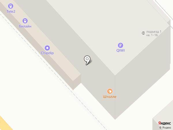 Билайн на карте Волгограда