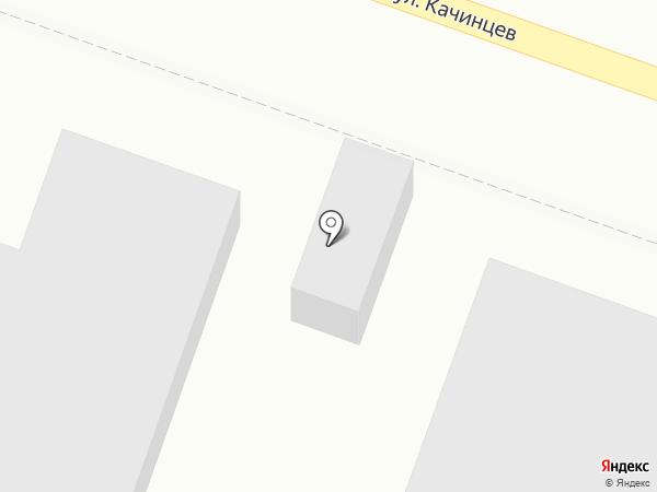 Киоск по продаже печатной продукции на карте Волгограда