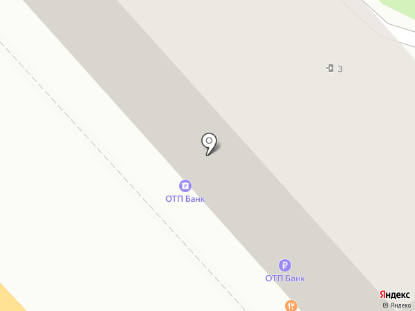 Банкомат, ОТП Банк на карте Волгограда
