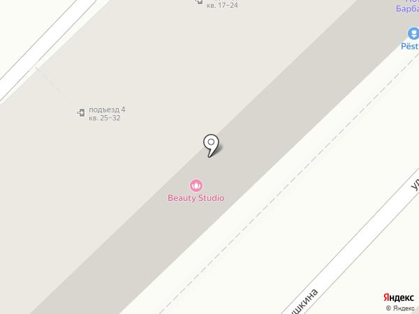 Колибри на карте Волгограда