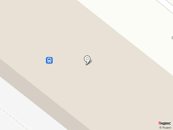 Сарепта на карте Волгограда